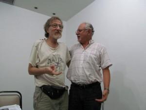 Alejandro Itzik e Bernardo Sorj