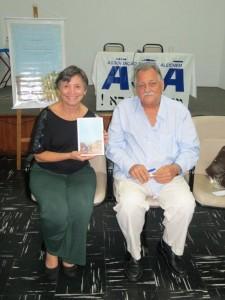 Nireu Cavalcanti e a diretora Gitel Bucaresky
