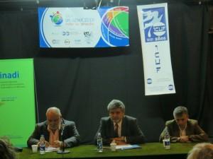 Daniel Silber, Daniel Filmus, Jorge Elbaum-abertura do ciclo Genocídios em B.Aires, IFT