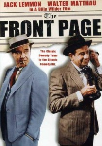 The Front Page,Jack Lemmon e Walter Mathau, 1974