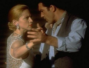 Madonna e Antonio Banderas em Evita