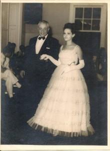 Elias e Sandra, Baile de Debutantes, Clube Municipal de Barra Mansa, 1962