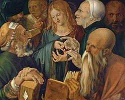 Cristo entre os doutores