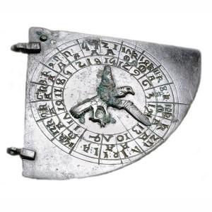 Astrolábio no Museu Britânico