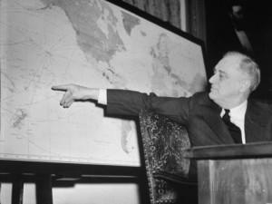 Roosevelt anuncia a entrada dos EUA na 2ª Guerra Mundial