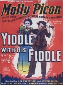 Cartaz de Idl mitn Fidl estrelado por Molly Picon