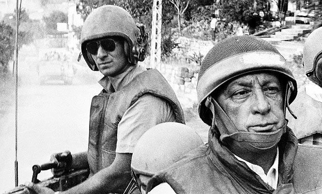 Ariel Sharon foi considerado pela Comissão Kahan indiretamente responsável pelo massacre de Sabra e Shatila