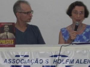 Anita Leocadia e o presidente, Mauro Band