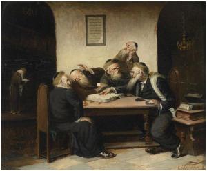 Schleicher, Uma controvérsia qualquer a partir do Talmud, 1860-70
