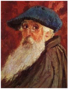 Pissarro, Autorretrato, 1900