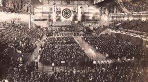 Luna Park, Buenos Aires, 1938- Maior ato nazista fora da Alemanha