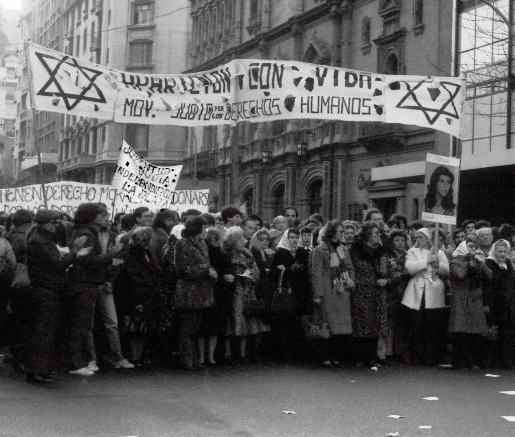 Manifestação de movimento judaico pelos direitos humanos, Buenos Aires